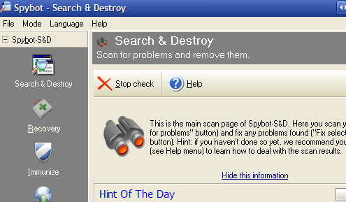 Search and Destroy Review